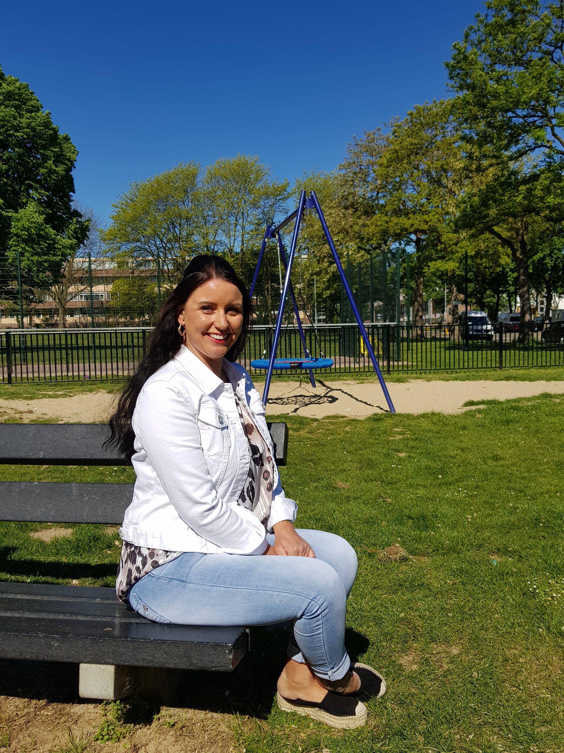Sandra Bastiaans was vorig jaar de eerste nieuwe bewoner die deelnaam aan het project 'Maak jij het verschil in Vastenavondkamp?'