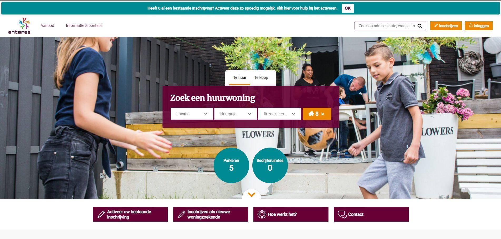 screenshot_wonen.thuisbijantares.nl